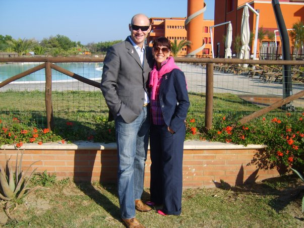 Stefano Bocini e Valeria Pescarini